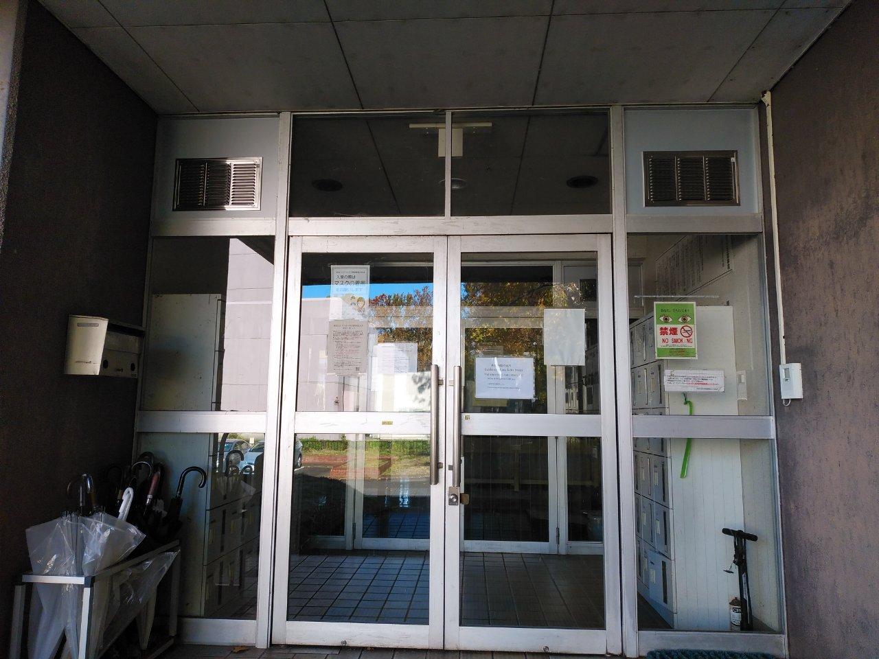 【コロナ対策】ドア上部のランマ工事